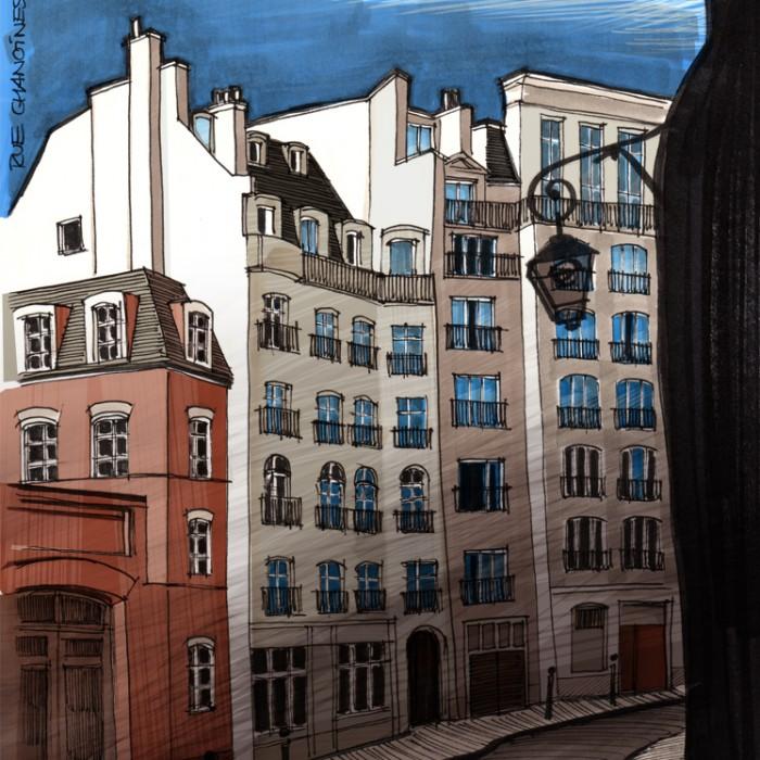 Rue-Chanoinesse