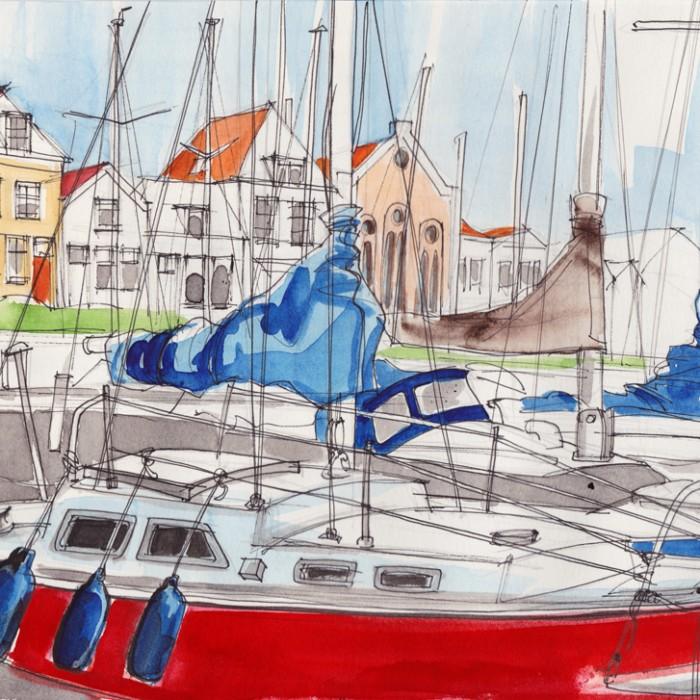 Brouwershaven_Hafen