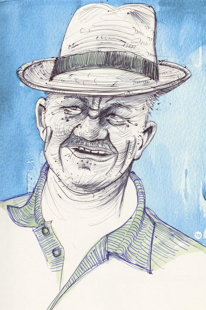 Mann-mit-Hut